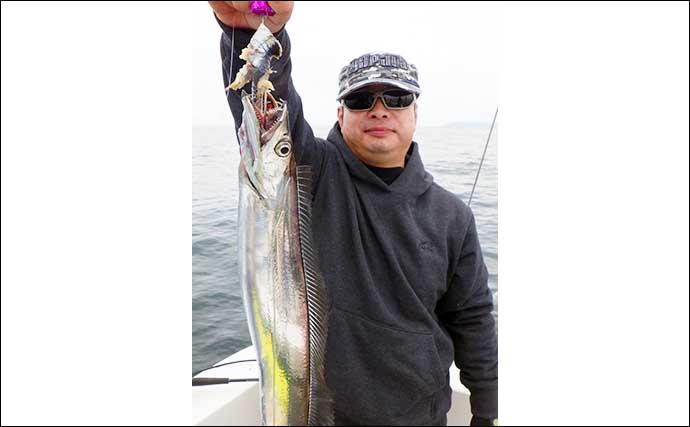 【熊本・大分】沖釣り最新釣果 ドラゴン級タチウオにマダイが好調