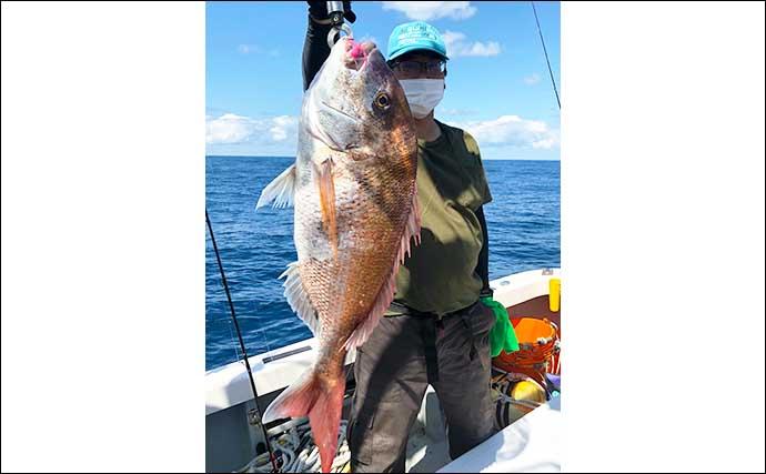 【静岡・福井】沖釣り最新釣果 ティップランでアオリイカ続々顔出し