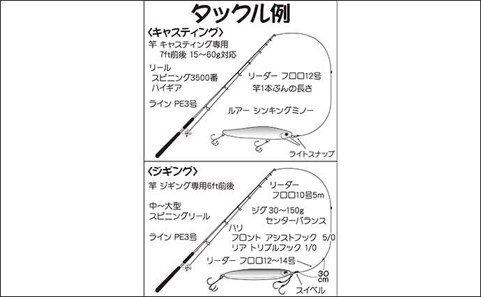 【東京湾2020】オフショア青物ゲームの基本 タックル&釣り方を紹介