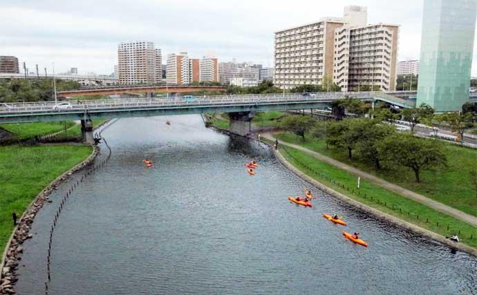 ウキ仕掛けで『秋ハゼ』釣り 良型主体に26尾手中【東京・旧中川】