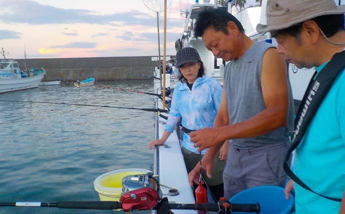 相模湾でカツオ&マグロ乱舞 釣り初心者もお土産確保【神奈川・太郎丸】