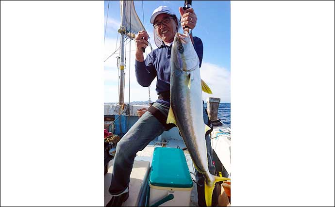 【福岡・響灘】落とし込み釣り最新釣果 7kg級頭に良型ヒラマサ乱舞