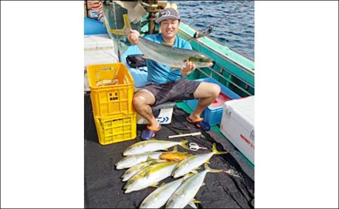 【福岡】落とし込み釣り最新釣果 良型含みでヒラマサの数釣り達成