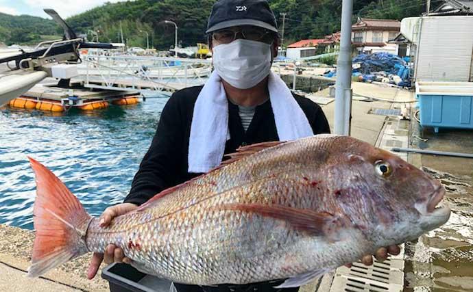 【福岡・佐賀】沖のルアー釣り最新釣果 キャスティングで8kg級カツオ
