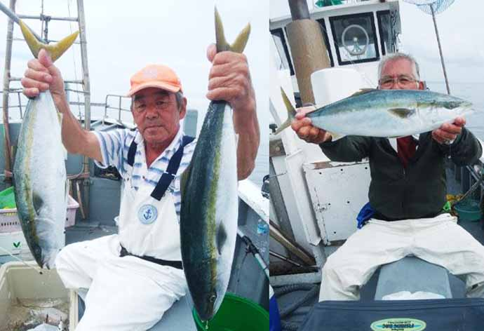 週末ナニ釣れた?沖釣り速報:ワラサ級の「ブリ族」が回遊中【関東】