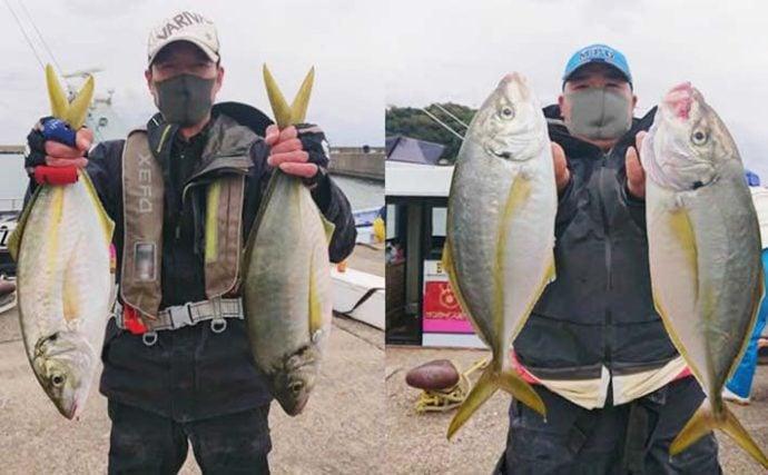 今週ナニ釣れてる? キロ級『シマアジ』が船中2ケタ釣果【関東】