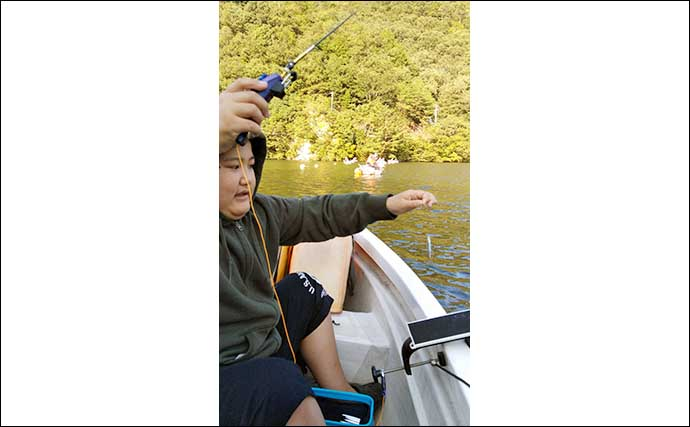 伊自良湖でボートワカサギ釣り 親子で103匹ゲット【岐阜・ラブレイク】