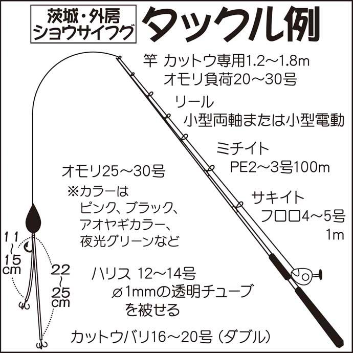 【関東2020】カットウ仕掛けフグ釣り入門 エサ付け・釣り方のキホン