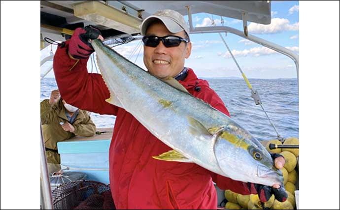 【玄界灘】沖釣り最新釣果 『落とし込み』で10kg頭にヒラマサ連発