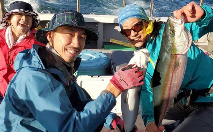 週末ナニ釣れた?沖釣り速報:シケ後のタチウオ&ワラサが好調【関東】