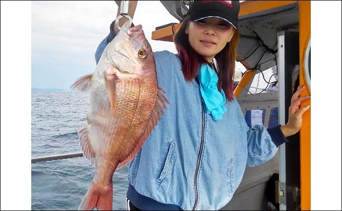 【三重】沖釣り最新釣果 幻の『シロアマダイ』浮上にアオリイカも好調