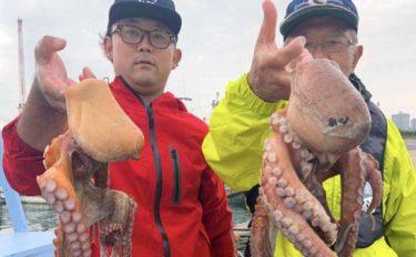 鹿島沖で『マダコ釣り』が開幕 良型1kg級狙えるチャンス【茨城】