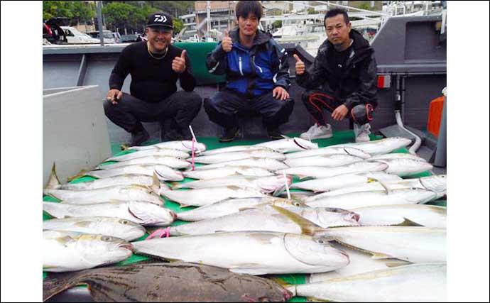 【玄界灘】落とし込み釣り最新釣果 ヒラマサ・カンパチ・ブリ絶好調