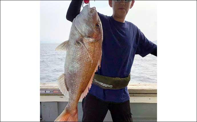 【福岡】オフショアルアー最新釣果 ジギングで11kg『デカマサ』浮上
