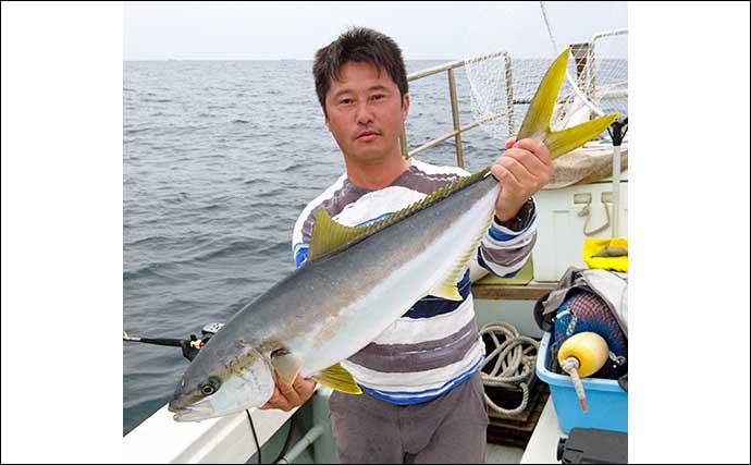 【福岡・響灘】沖釣り最新釣果 『落とし込み』でヒラマサ2ケタ釣果続々