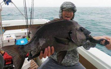 【愛知・静岡】沖のルアー最新釣果 タイラバで大型『イシダイ』浮上