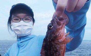 営業再開した「横須賀海辺つり公園」を夫婦で満喫 カサゴなど八目達成