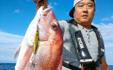 【石川・福井】沖釣り最新釣果 タイラバ&ジギングで「大ダイ」浮上中