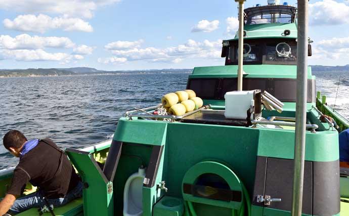 東京湾で『船カワハギ』好調 31cm頭に船中トップ13尾【千葉・吉野屋】