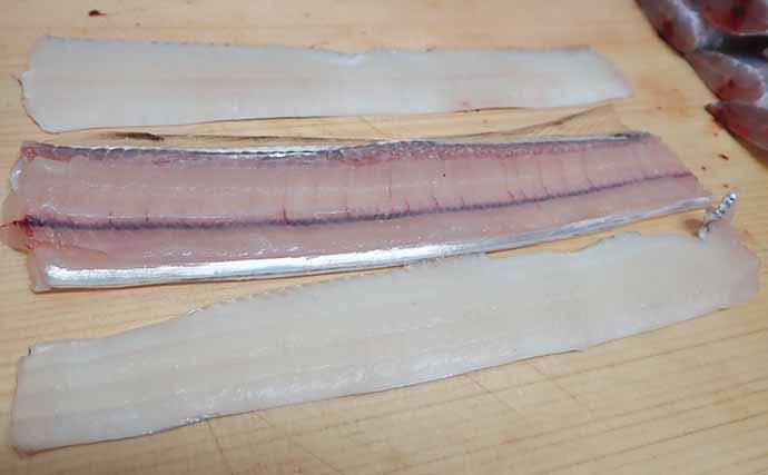 【釣果レシピ】タチウオの「骨せんべい」 栄養抜群のオヤツ&オツマミ