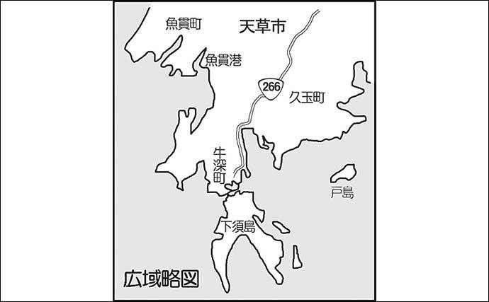 エギング&青物プラッキングのリレー釣行で両本命ゲット【熊本・天草】