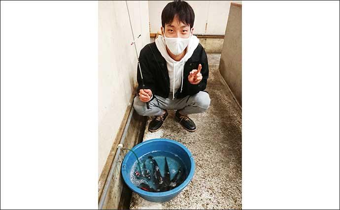 室内釣り堀でコイ&金魚釣り 小型魚の数釣りが上級者の証?【長野】