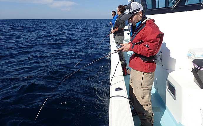 高級魚アマダイをタイラバで狙う『アマラバ』で好釣果【福井・美浜沖】