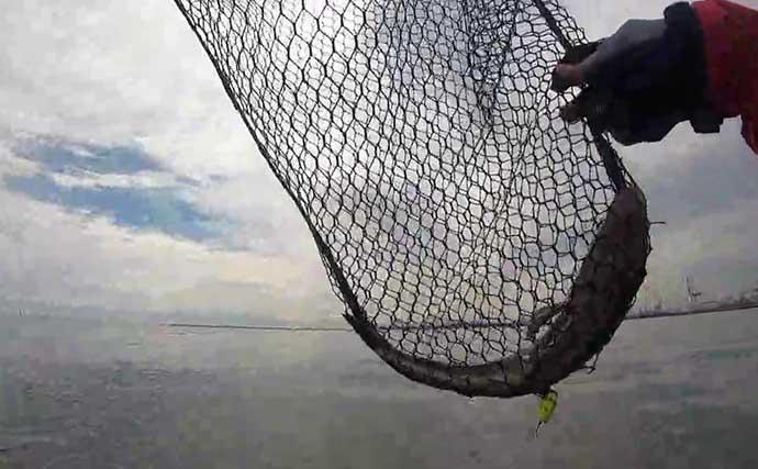 サーフフラットゲーム好機突入 自作ジグでヒラメ&マゴチ【高松海岸】