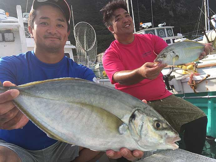 神津島の船釣りで高級魚三昧 GoToキャンペーン活用も視野【吉栄丸】