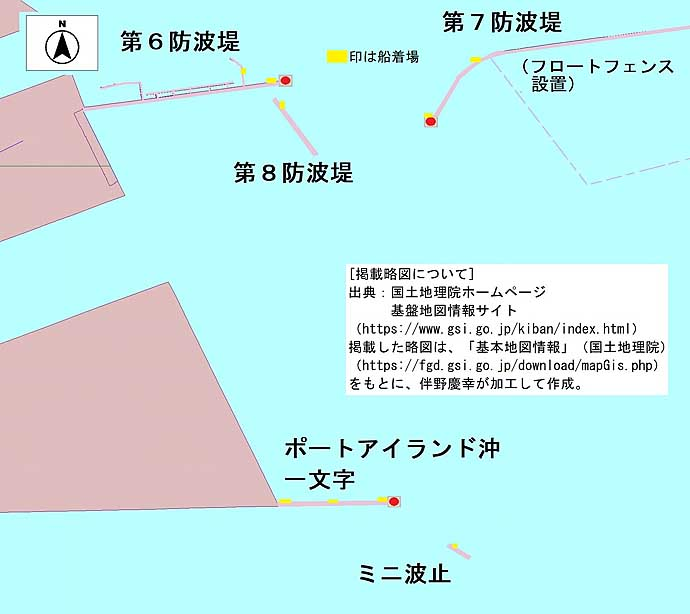神戸沖「ミニ波止」で中アジ&タチウオ 青物はルアーマンの独断場?