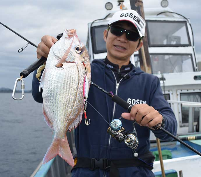 SLJ発祥の地で多彩な高級魚乱舞 釣果の決め手は国産ライン?【三重】