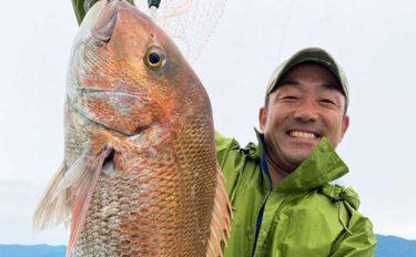 【石川・福井】沖のルアー釣り最新釣果 タイラバで86cm頭に巨ダイ続々