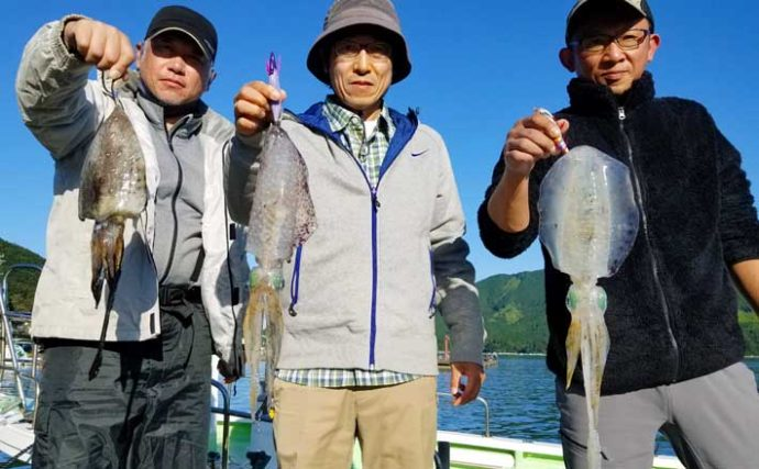 【愛知・三重】沖のルアー釣り最新釣果 ティップランでアオリイカ好調