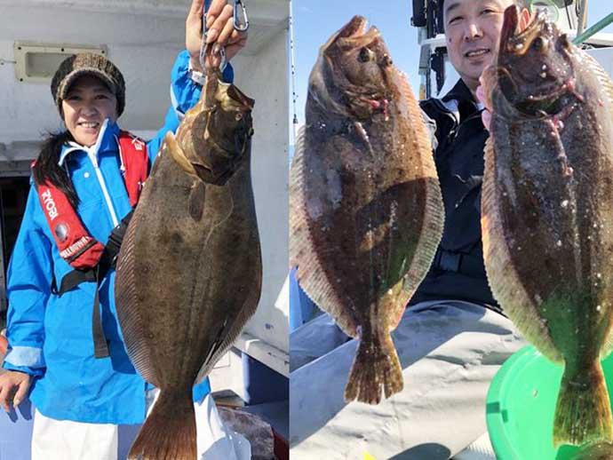 今日ナニ釣れてる?:鹿島沖『ヒラメ』が広域解禁で好釣果続々【茨城】