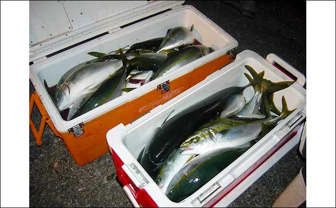 【福井・石川】沖のルアーフィッシング最新釣果 ジギングでブリ族続々