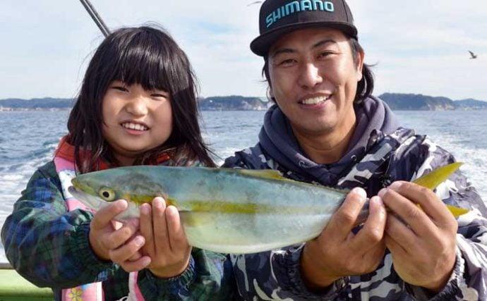『食わせサビキ』を使ったLT五目釣りでイナダ&カツオ【まごうの丸】