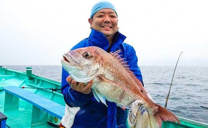 『手バネ』で行う伝統釣法『シャクリマダイ』解説 釣果上々で入門好機