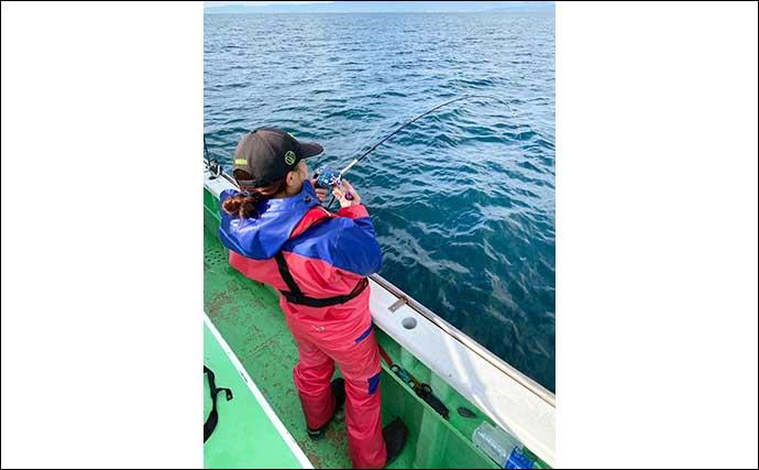 相模湾アマダイ釣りで40cm頭に7尾 『置き竿』作戦大成功【腰越】