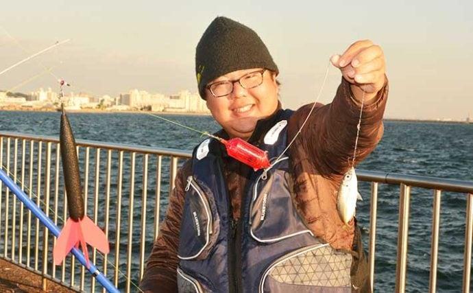 初心者にはセット仕掛けがオススメ 遠投サビキ釣りでアジ・サバ・イワシ