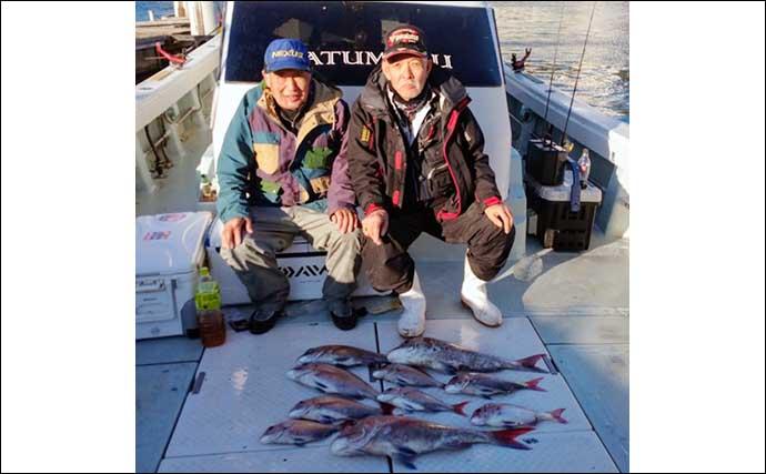 【福岡】沖のエサ釣り最新釣果 『アラ』など良型の高級根魚目白押し