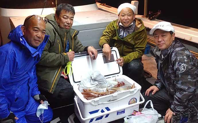 【福岡】オフショアルアー最新釣果 キャスティングで『デカマサ』1日3本