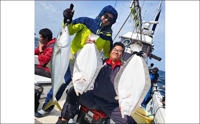 【福岡・響灘】落とし込み釣り最新釣果 連日クーラー満タンと絶好調