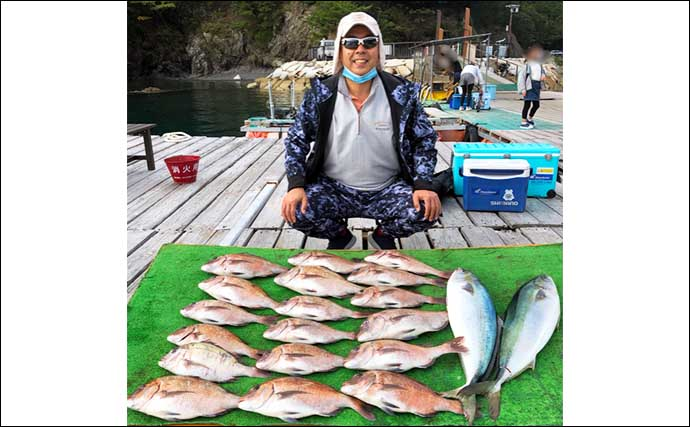 【三重・愛知】海上釣り堀最新釣果 1グループでマダイ「73匹」ゲット