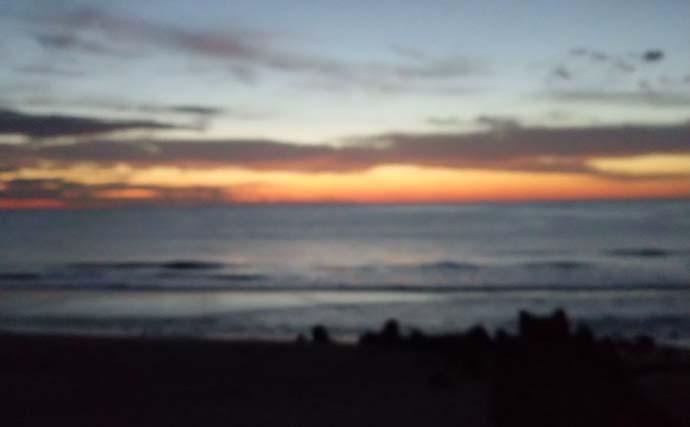 サーフゲームで48cmヒラメ手中 サラシの中でヒット【茨城・赤浜海岸】