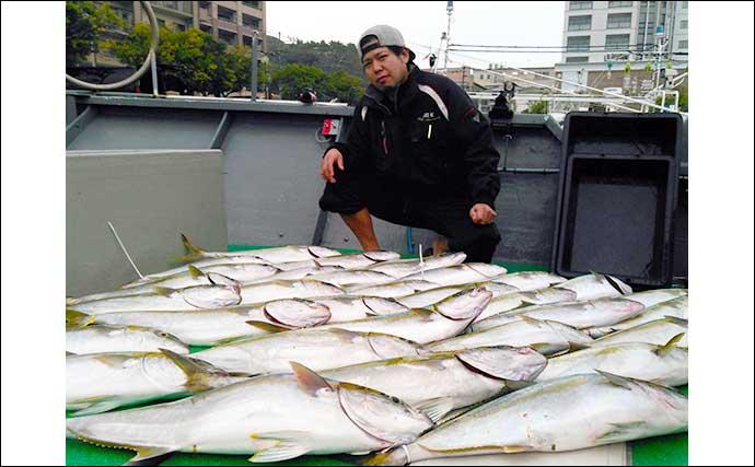 【玄界灘】落とし込み釣り最新釣果 メーター超ヒラマサに10kg超ブリ