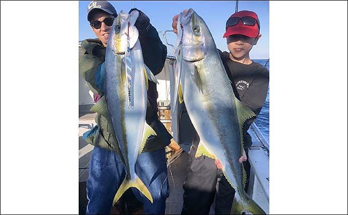 上五島の秋ヒラマサが本格期へ突入 ジギングで入れ食いに【幸漁丸】