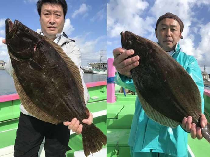 3連休ナニ釣る?:外房&茨城沖で冬の名物詩『ヒラメ』が絶好調