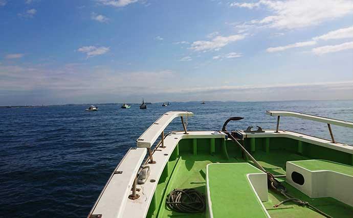 沖釣り初挑戦の彼女と『船釣りデート』 相模湾イナダラッシュに大興奮