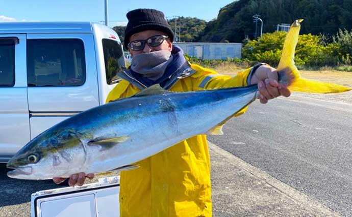【三重・愛知】沖のルアー釣り最新釣果 タイラバで68cm大ダイ浮上