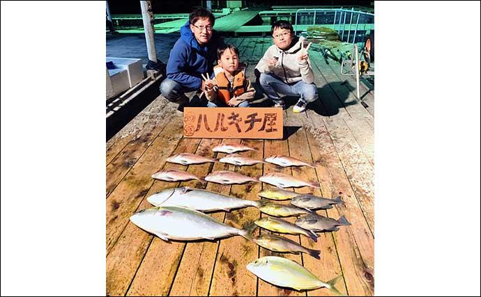 【愛知・三重】海上釣り堀最新釣果 ワラサ中心に大型青物が好調